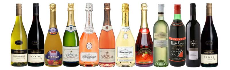 Premium imported European Wines